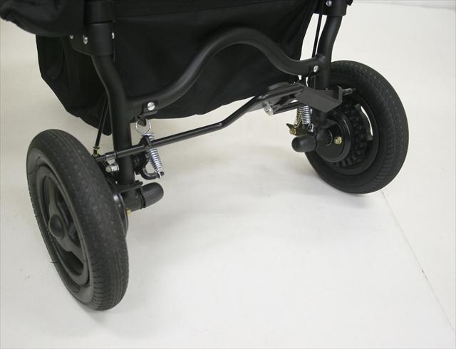 エアバギーココ ブレーキモデル インディゴグレー