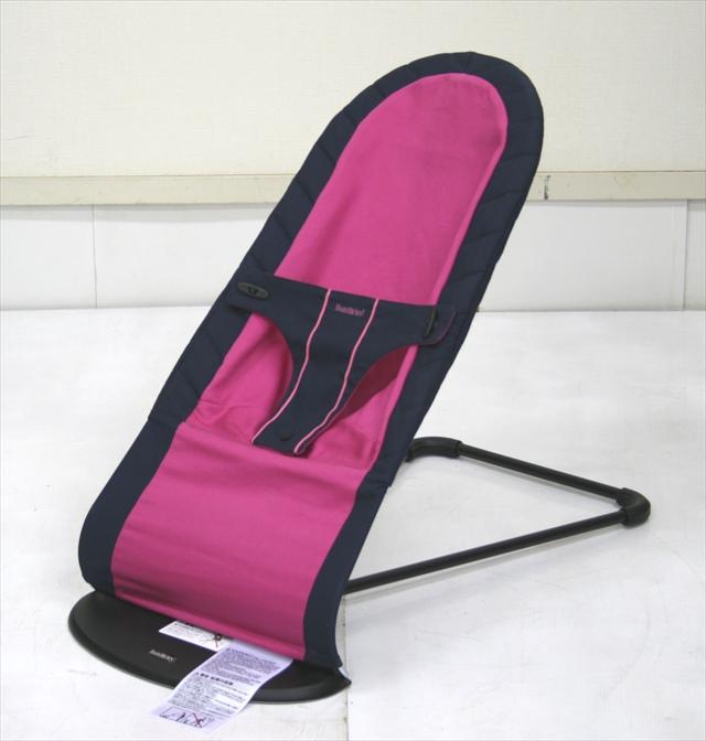 ベビーシッターバランス コットンミックス ダークブルー/ピンク