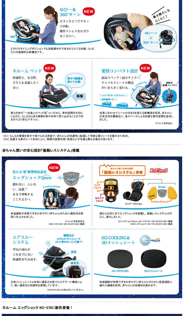 ネルーム エッグショック NC-570 フュージョンブラック