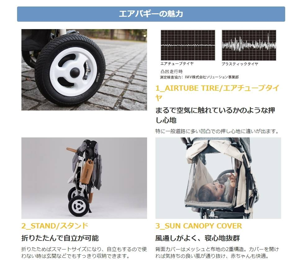 エアバギーココ ブレーキ EX フロムバース
